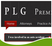 Screen shot ofPremier Law Group